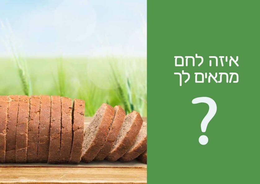 בנאר איזה לחם מתאים לך