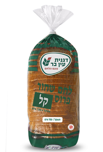 לחם שחור פרוס קל